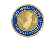 Certified by NJLPIA, New Jersey Licensed Private Investigators Association, Inc.