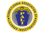 Certified by PALI,  Pennsylvania Association of Licensed Investigators